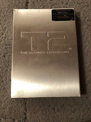 T2 Terminator 2 Judgment Day DVD Ultimate Edition Metal Collectors (region 1)