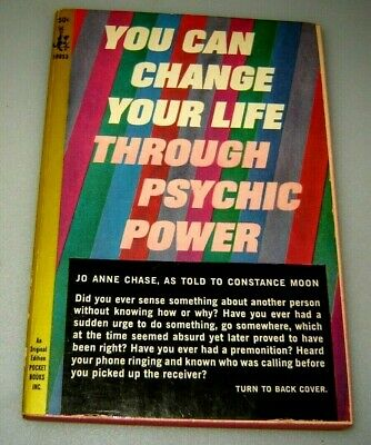YOU CAN CHANGE YOUR LIFE THROUGH PSYCHIC POWER Jo Anne Chase - PREMONITIONS