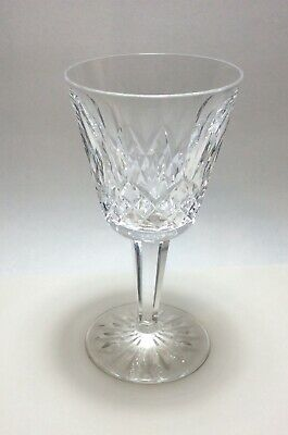 """Waterford Crystal Lismore Claret Wine Glass s 5 7/8"""""""