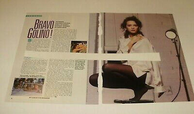 VALERIA GOLINO  scrapbook clippings...