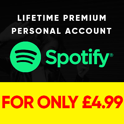 Spotify Premium | Lifetime Warranty | Your Own Personal Account