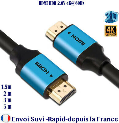 hdmi 2.0 4K 60Hz Cable ultra HD 2160p 3D Full HD HDTV real HDR 18GB 1.5 2 3 m