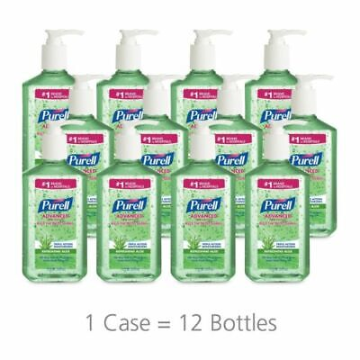 PURELL 363912CT Advanced Instant Hand Sanitizer w/Aloe, 12oz Pump Bottle (Case)