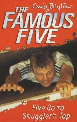 Five Go to Smuggler's Top (Famous Five) by Enid Blyton, Good Used Book (Paperbac