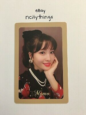 Twice Momo The Year of Yes Official Preorder Photocard - Perfect Condition