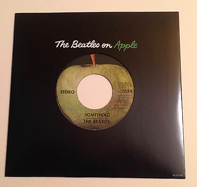 The Beatles Something & Come Together RSD 2011 45 with Apple Sleeve MINT