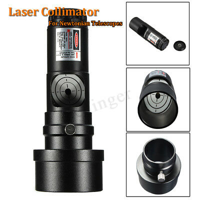 "AUS 7 Bright Level 1.25"" Laser Collimator + 2"" Adaptor For Newtonian Telescope"