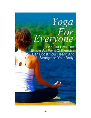 Yoga For Everyone with Bonus eBook PDF Format with Master resell Rights