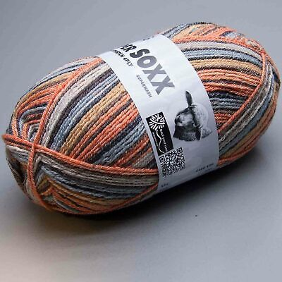 Lang Yarns Super Soxx Cotton Stretch 4Ply 14 LL 420m//100g-Nadelstärke 2,5-3,5