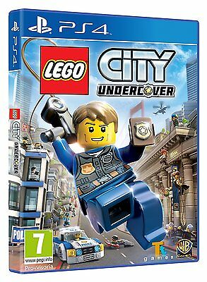 Lego City Undercover   playstation 4  Ps4