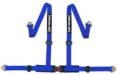 Harness - 4 Point & Snap Hooks - Blue SECURON 655BLUE