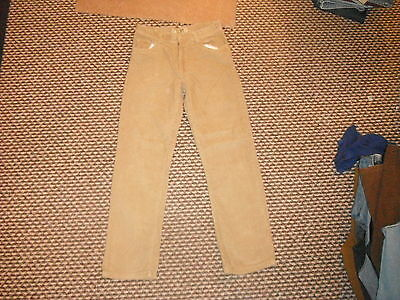 "Denim Co Slim Jeans Waist 28"" Leg 26"" Faded Beige Boys 10/11 Yrs Cord Jeans"
