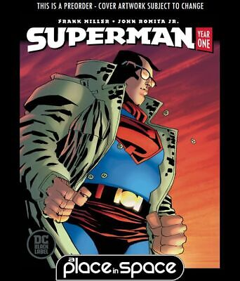 (Wk34) Superman: Year One #2B - Miller Variant (Oversized) - Preorder 21St Aug