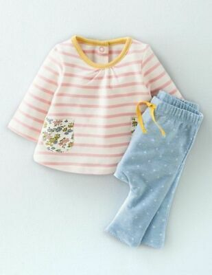 NEW RRP £30 Baby Boden Super Soft Jersey Playset (Without Bottoms) (U10-4)