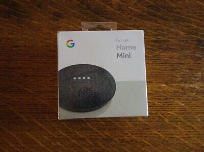 Google Home Mini Smart Assistant - Charcoal (Canada)- Brand New Sealed
