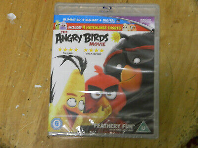The Angry Birds Movie  Blu Ray...new And Sealed