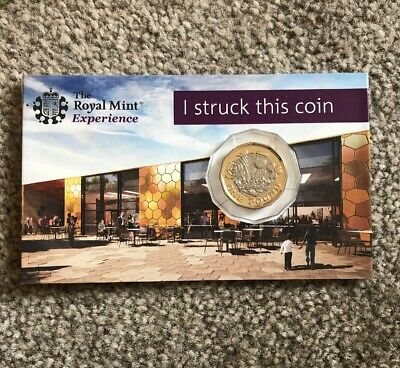 Strike Your Own SYO 12 Sided One Pound Coin £1 2017 BU The Royal Mint Experience