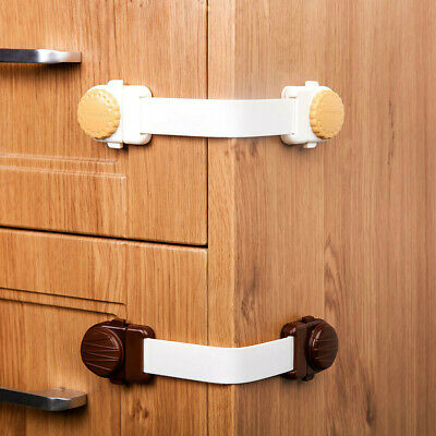 Baby Adhesive Safety Lock For Cabinet Door Drawers Refrigerator
