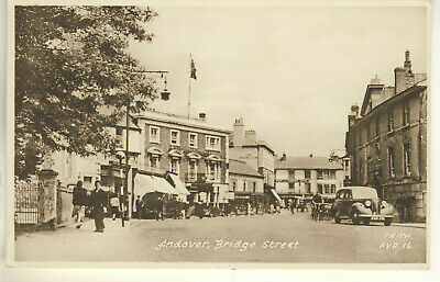 An Early Frith's Post Card of Andover, Bridge Street. Hampshire.