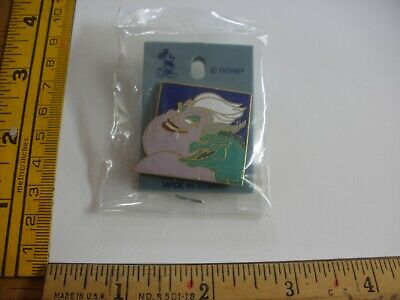 Ursula and Eel faces MOC Little Mermaid Disney Pin Nice!