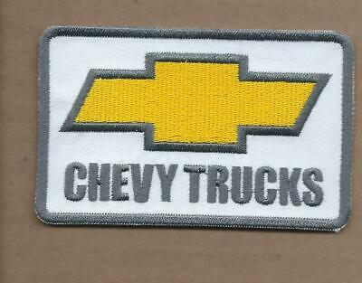 New 2 1/2 X 3 3/4 Inch Chevy Trucks Iron On Patch Free Shipping