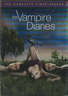 The Vampire Diaries: The Complete First Season (DVD, 2010, 5-Disc Set) BRAND NEW