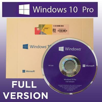 Windows 10 Pro 64 Bit Oem Dvd Rom Win Professional 64Bit