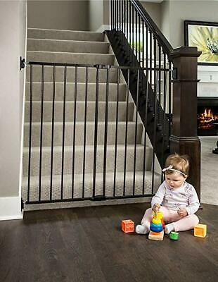 Regalo Extra Tall Easy Swing 2-in-1 Stairway and Hallway Walk Through Baby Gate