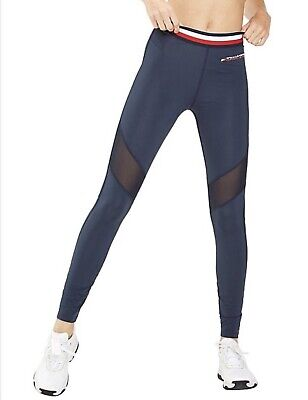 Tommy Hilfiger Leggings With Mesh Full Length. Size - Medium. RRP:$119