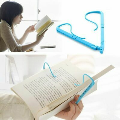 Book Reading Holder Creative Clip Stand Angle Document Portable Bookstand Desk 1
