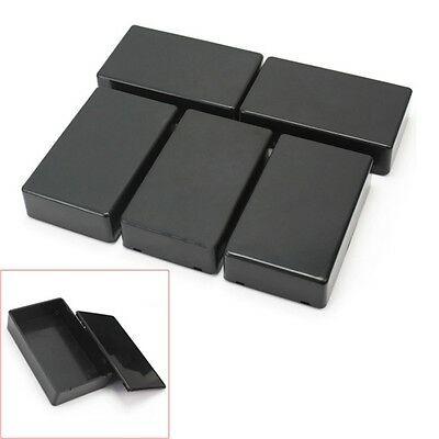 5Pcs Plastic Electronic Project Box Enclosure Instrument Case 100x60x25mm TB