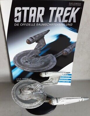 Star Trek U.S.S. Franklin NX-326 Modell Sondermodell EAGLEMOSS deutsches Magazin