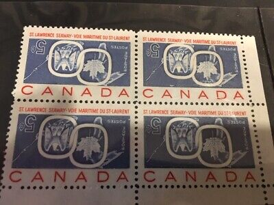 Canada #387a UL C Block St.Lawrence Seaway Inverted *Fake* MNH