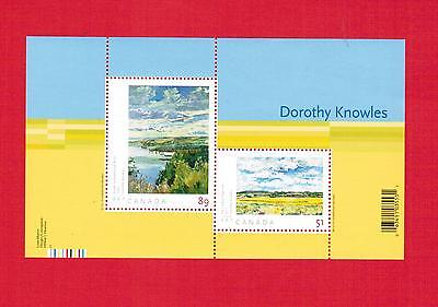 2006  #  2148 **  Vfnh Timbres Canada  Mini Sheet Stamps  Art :  Dorothy Knowles