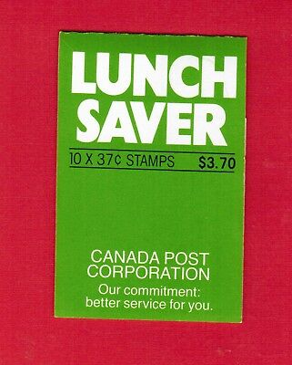 1988 CARNET TIMBRES CANADA BOOKLET STAMPS BK97b 1163  PARLIAMENT  DM18
