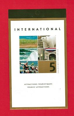 2003 Canada Stamps  Booklet # Bk271  # 1990  Tourist Attractions  Jt18