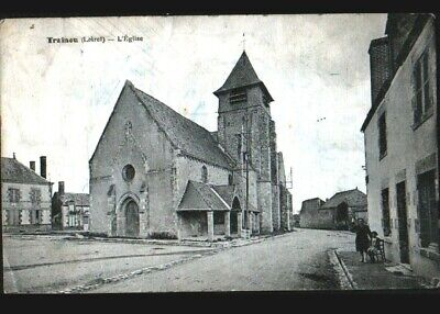 TRAINOU (45) VILLAS animées & EGLISE en 1928