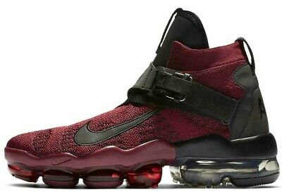 Nike Air Vapormax Premier Flyknit Red/Black Size 11 Brand New $225 (Ao3241-600)