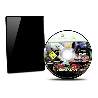 Xbox 360 Game MX vs Atv Untamed without Original Packaging without Guide #B