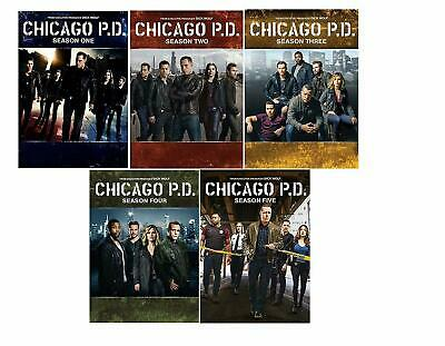 Chicago P.D.  Complete Series, Seasons 1-5-DVD, 27-Discs,FREE SHIPPING, NEW.