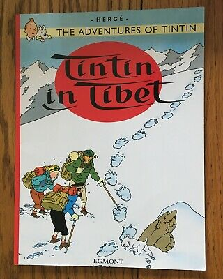 Tintin In Tibet - Herge's Adventures of Tintin UK 2010 SB Published by Egmont