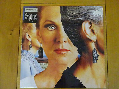 Styx Pieces Of Eight Vinyl Lp Record Renegade Tommy Shaw Dennis Deyoung A&M 1978