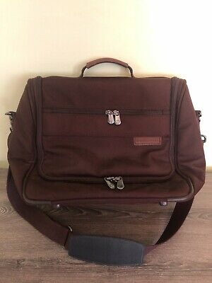 Briggs And Riley Travelware Weekend/ Carry On (Red/Burgundy)