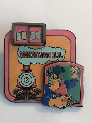 DLR - Dateline - Disneyland 1955 - 55 Years Series - Railroad Disney Pin LE (B7)