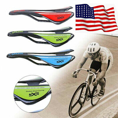 Hollow UD Saddle Road Bicycle Saddle Parts 255 128mm 85g Full Carbon Seat