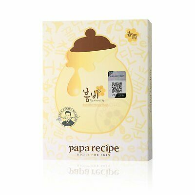 Papa Recipe Bombee Honey Mask 10 Sheets in Pack Hydrating Mask Korean Skincare