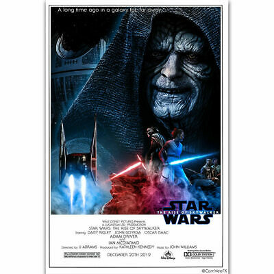 HY1436 Art Poster Star Wars 2019 THE RISE OF SKYWALKER Movie Comic Print