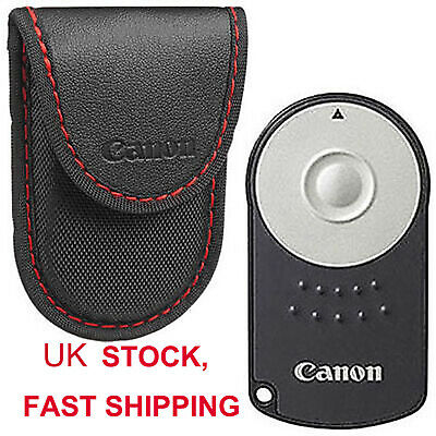 UK RC-6 IR Wireless Remote Control Shutter Release For Canon DSLR Camera