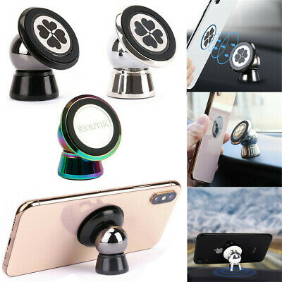 Universal 360° Rotation  Strong Magnetic Car Dashboard Mount Mobile Phone Holder