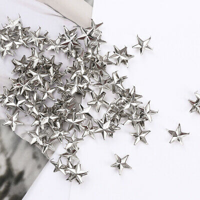 Punk Sewing Decoration Star Rivets Studs Spikes Spots Nailhead Leather Craft